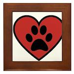 always in my heart Framed Tile