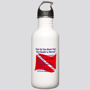Scuba Buddy Narced? Stainless Water Bottle 1.0L