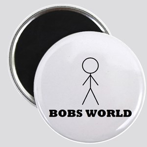Bobs world Magnet