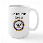 USS BALDWIN Large Mug