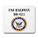 USS BALDWIN Mousepad