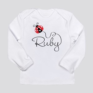 Ladybug Ruby Long Sleeve Infant T-Shirt