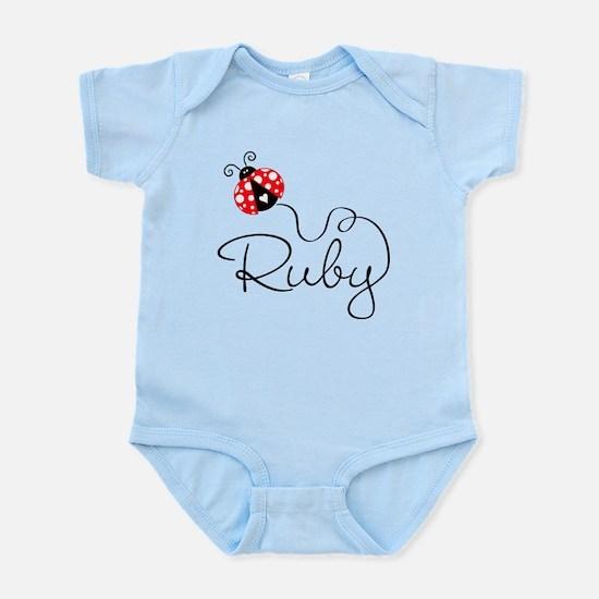 Ladybug Ruby Infant Bodysuit