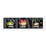 Cute Little Pirate Sticker (Bumper 10 pk)