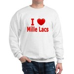 I Love Mille Lacs Sweatshirt