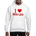 I Love Mille Lacs Hooded Sweatshirt