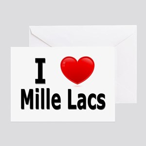 I Love Mille Lacs Greeting Card