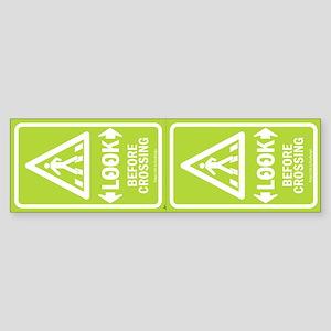 Look Pedestrian Safety Stickers - 2 Units
