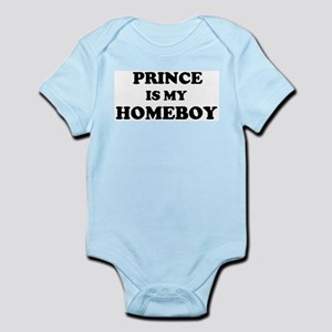 Prince Is My Homeboy Infant Creeper