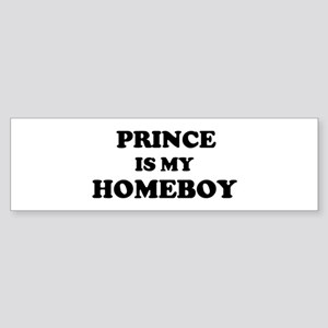 Prince Is My Homeboy Bumper Sticker