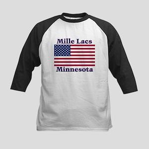 Mille Lacs US Flag Kids Baseball Jersey