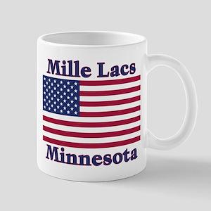 Mille Lacs US Flag Mug