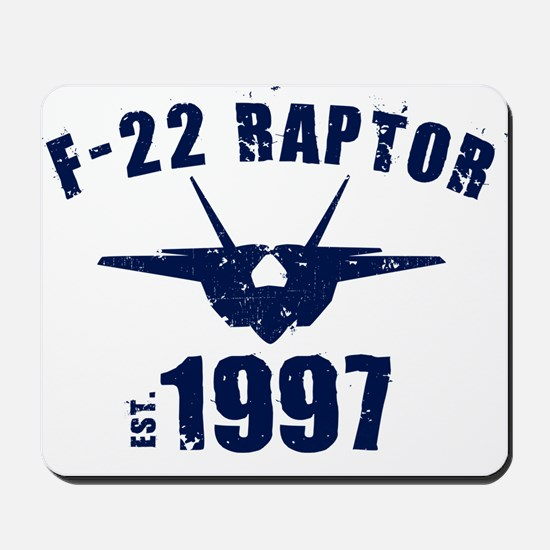 Varsity F-22 1997 Mousepad