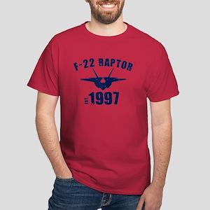 Varsity F-22 1997 Dark T-Shirt