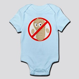 Peanut-Free Cartoon Infant Bodysuit