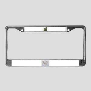 NATURE DESIGNS License Plate Frame