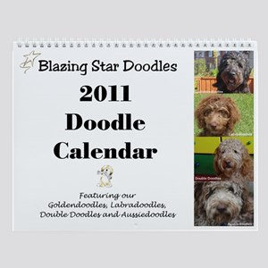 Blazing Star Doodles Wall Calendar