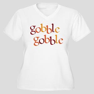 Gobble Gobble Women's Plus Size V-Neck T-Shirt