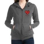Paw prints on my heart Sweatshirt