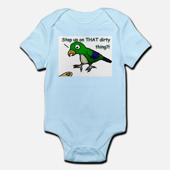 Step Up Parrot Infant Creeper