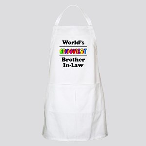 World's Grooviest Brother-In-Law Apron