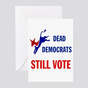 THEY KEEP ON VOTING Greeting Cards (Pk of 10)