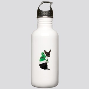 Santa Chihuahua Stainless Water Bottle 1.0L