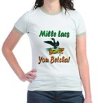 Mille Lacs You Betcha Jr. Ringer T-Shirt