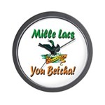 Mille Lacs You Betcha Wall Clock