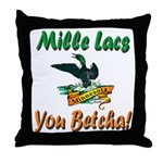Mille Lacs You Betcha Throw Pillow