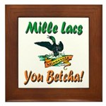Mille Lacs You Betcha Framed Tile