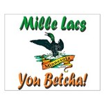 Mille Lacs You Betcha Small Poster