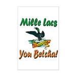 Mille Lacs You Betcha Mini Poster Print