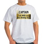 Mille Lacs Beer Drinking Team Light T-Shirt