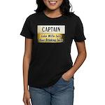 Mille Lacs Beer Drinking Team Women's Dark T-Shirt
