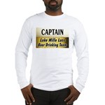 Mille Lacs Beer Drinking Team Long Sleeve T-Shirt