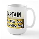 Mille Lacs Beer Drinking Team Large Mug