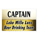 Mille Lacs Beer Drinking Team Postcards (Package o