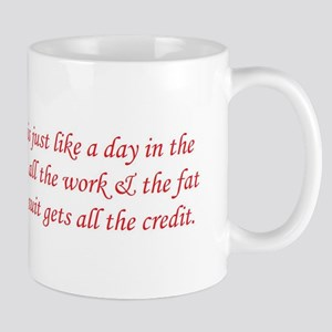 Christmas is like a day in th Mug