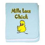 Mille Lacs Chick baby blanket