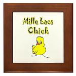 Mille Lacs Chick Framed Tile