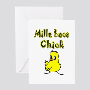 Mille Lacs Chick Greeting Card