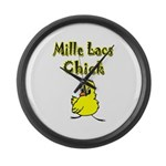 Mille Lacs Chick Large Wall Clock
