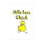 Mille Lacs Chick Sticker (Rectangle 10 pk)
