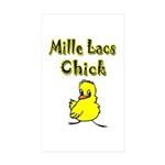 Mille Lacs Chick Sticker (Rectangle 50 pk)