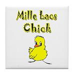 Mille Lacs Chick Tile Coaster