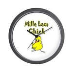Mille Lacs Chick Wall Clock
