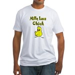Mille Lacs Chick Fitted T-Shirt