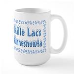 Mille Lacs Minnesnowta Large Mug