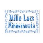 Mille Lacs Minnesnowta Mini Poster Print